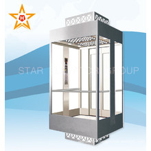 4 Side Observation Glass Panoramic Lift Elevator