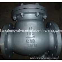ANSI Flange End Swing Check Valve with Carbon Steel RF