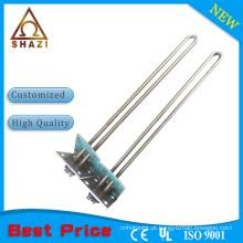 Elemento de aquecimento tubular elétrico de flange quadrado para eletrodomésticos