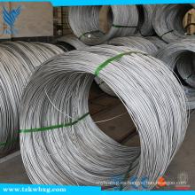 SUS 202 de alambre de acero inoxidable de dibujo en frío por precio de metro