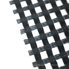 high strength Warp-knitted polyester geogrid Used for river reinforcement and isolation