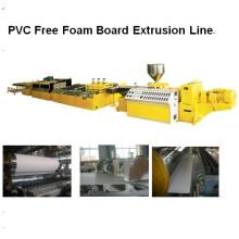Línea de extrusión de tablero de espuma libre de PVC LMSB80 / 156