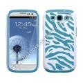 Samsung Galaxy s3 i9300 Zebra Pc + Silikon Hülle