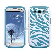 Samsung Galaxy s3 i9300 Zebra Pc+Silicon Case
