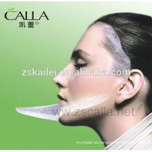 fibroína que blanquea la máscara facial de la humedad