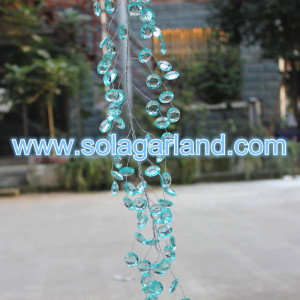 18MM Acrylic Crystal Wire Beaded Branch