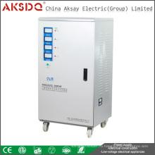 2016 Новый тип прямого производителя SVC 30kva 3-фазный серводвигатель Автоматический стабилизатор напряжения переменного тока для дома Wenzhou YueQing AKSDQ