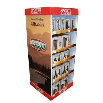 Reliable Quality Cardboard Floor Display Racks for Gifts
