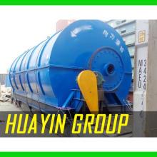 Usine de raffinage d'huile de moteur en plastique de pneu finale élevée de prix d'huile au diesel avec le coût bas de catalyseur