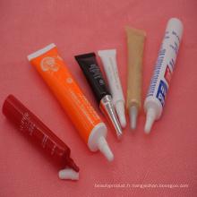 Plastique pressé Eyecream Tube, Tube de crème solaire