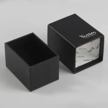 Paper Sleeve Soap Packaging Black Drawer Box