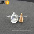 clear 15ml glass empty custom nail polish bottle