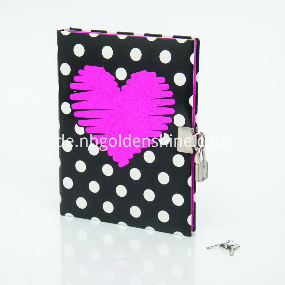 Deluxe Secret Diary With Glitter