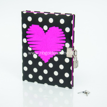Handcover Diary Journal With Lock