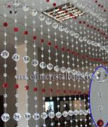 2016 Fashion handmade crystal beaded crafts curtain wholesale