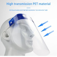 Transparent Protective Mask Face Shield