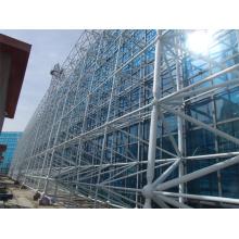 Mur rideau en verre extérieur en aluminium