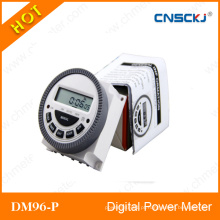 Interruptor programável do temporizador do temporizador do poder de Digitas do LCD CA 12V 16A 168 horas do relé