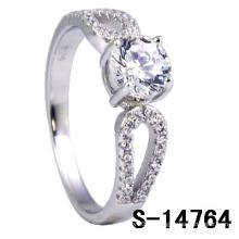 Nuevos estilos de plata esterlina 925 anillo de ajuste Micro (S-14764)