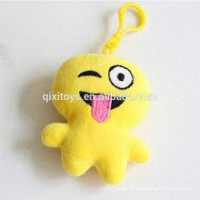 Vente chaude emoji articles personnalisé personnalisé porte-clés bonne qualité promotion cadeau porte-clés usine directe