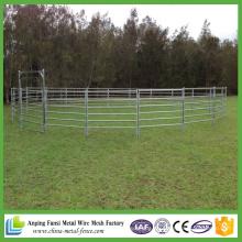 2.1m * 1.8m Heavy Duty Günstige Galvanisierte Tragbare Vieh Yard Panels