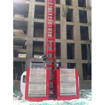 Alzamiento de la construcción del pasajero Sc 200/200 ofrecido por Hstowercrane