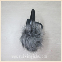 Imitation fox fur ear muff