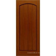 Morden porta de madeira maciça