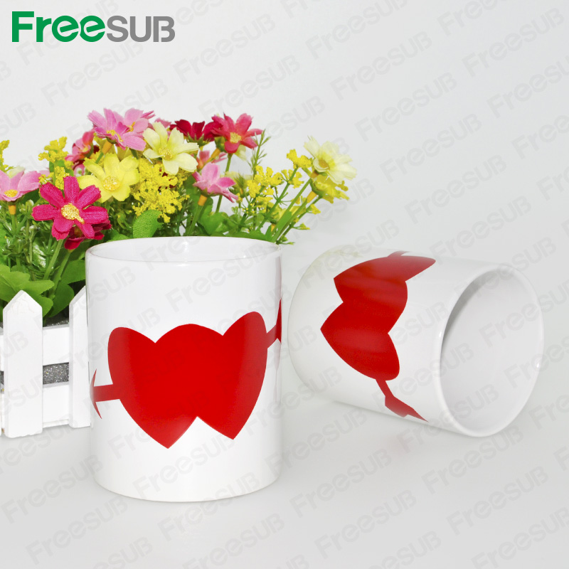 FreeSub Sublimation Heat Transfer Magic Coffee Cup