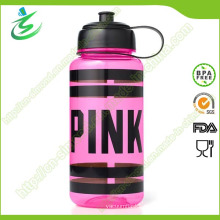 1000ml Pink Tritan Water Bottle with BPA Free Material