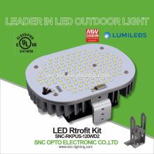 O UL alistou os jogos de retrofit da luz de Shoebox do diodo emissor de luz 120W com 5 anos de garantia