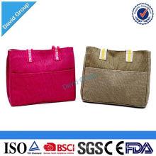 Money Safe Alibaba Top Supplier Logo Bolsa de almuerzo personalizada y Cool Bag