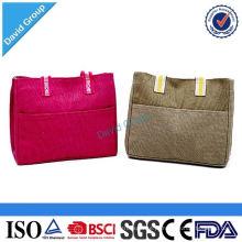 Dinheiro Seguro Alibaba Top Fornecedor Logotipo Personalizado saco de almoço & Cool Bag