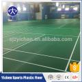 O revestimento interno dos esportes do teste padrão do lichee do PVC, corte do badminton ostenta o revestimento