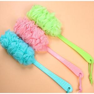 Long handle soft shower brush