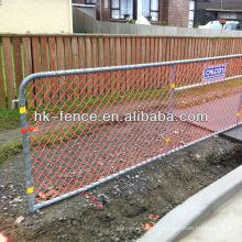 Panneaux orange de haute sécurité de barrière de sécurité de 1.0M pour la route et le sentier en Nouvelle-Zélande