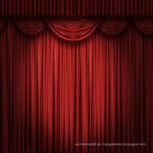 China diseño de la manera 2014 cortinas usadas de la etapa