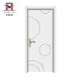 2018 Alibaba China-Türen Luxus-Designs MDF-Holzinnentüren für Schlafzimmer