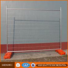 Vorübergehender Plastikzaun / Australien galvanisierte vorübergehende Zaun-Platten