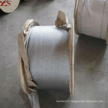 6x19 fc galvanized steel wire ropes