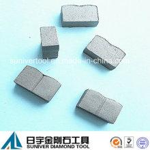Basalto corte diamante de segmento para o mercado de Arménia