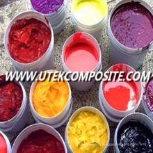 Pâte pigmentée haute performance multicolore pour FRP