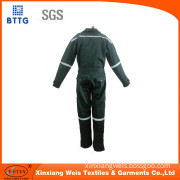 Flame retardant industrial safety clothing