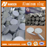 Aluminium alloy Slugs (Purity 1070 ) aluminum Sheet Punching slug for cold extrusion tube aerosol can