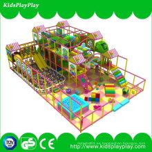 Juegos de interior para niños Parque de diversiones de plástico suave Playground