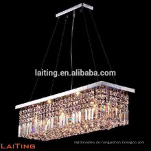 Hängende quadratische Beleuchtung, hängende Kristallbeleuchtung