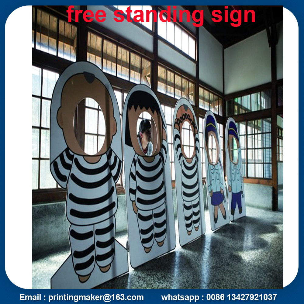 Free Standing Pvc Signs