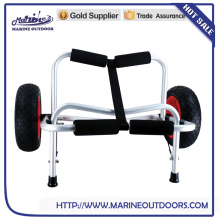 Aluminum beach hand cart for kayak hand cart
