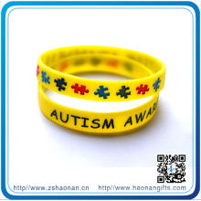 13 Years Experiences Custom Rubber Silicon Wristband