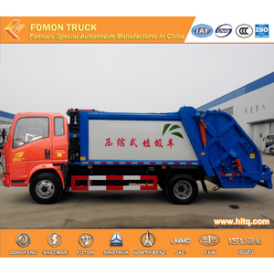 SINOTRUK 4x2 rear loader refuse compactor